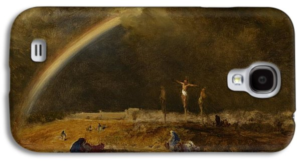The Triumph At Calvary Galaxy S4 Case by George Inness