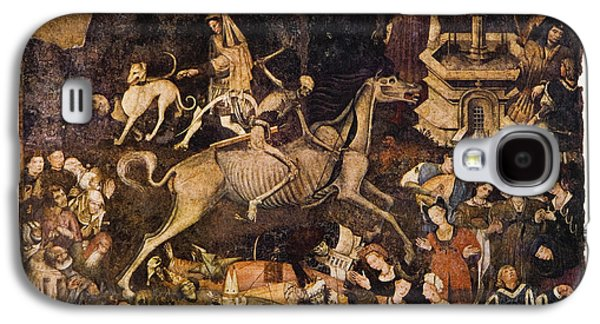 Historical Images Galaxy S4 Cases - The Triumph Of Death, Medieval Fresco Galaxy S4 Case by Mehau Kulyk