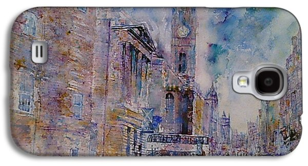 The Tron High Street  Edinburgh  Galaxy S4 Case by Robert Hogg