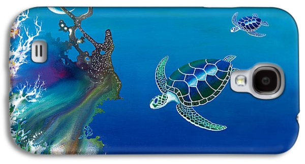 The Twin Turtles Of Oceania Galaxy S4 Case by Lee Pantas