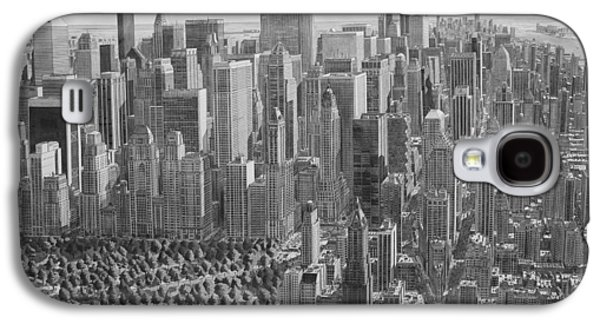 The Ultimate New York City Drawing Galaxy S4 Case by Stefan Bleekrode