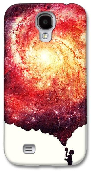 The Universe In A Soap Bubble Galaxy S4 Case
