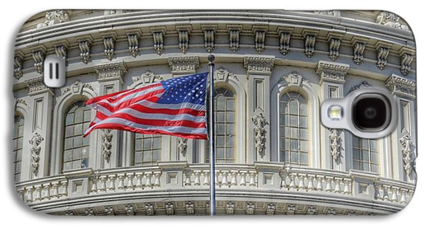 Capitol Building Galaxy S4 Case - The Us Capitol Building - Washington D.c. by Marianna Mills