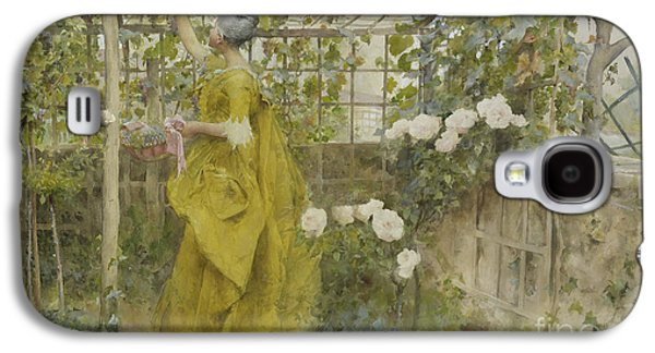 The Vine, 1884 Galaxy S4 Case by Carl Larsson