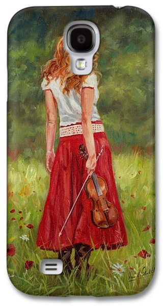 The Violinist Galaxy S4 Case