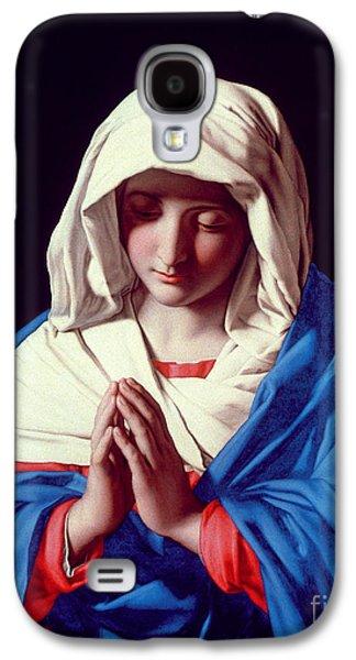 The Virgin In Prayer Galaxy S4 Case