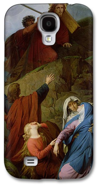 The Virgin Of Calvary Galaxy S4 Case by Jules Eugene Lenepveu