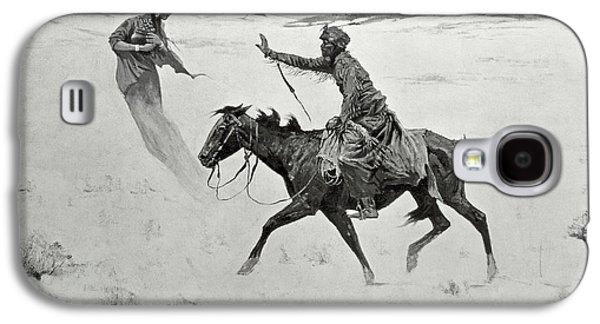 The Vision Galaxy S4 Case by Frederic Remington