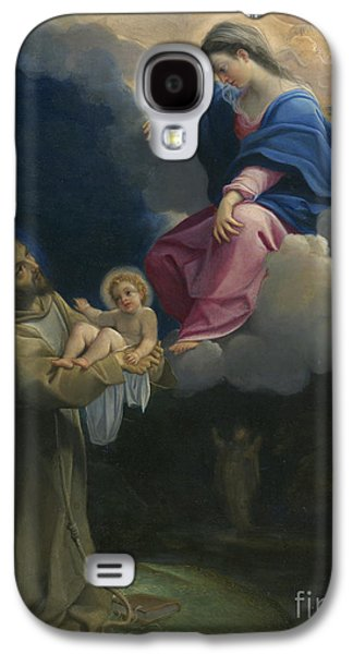 The Vision Of Saint Francis Galaxy S4 Case