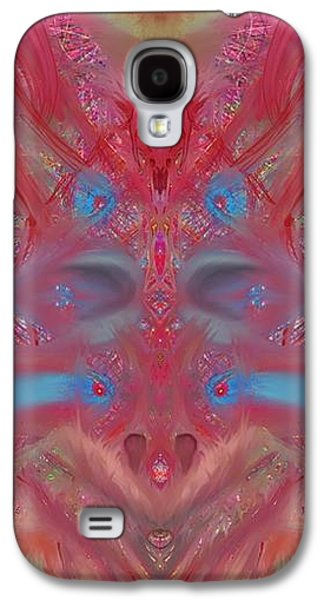 The Void Stares Back Galaxy S4 Case by Leandro Perez