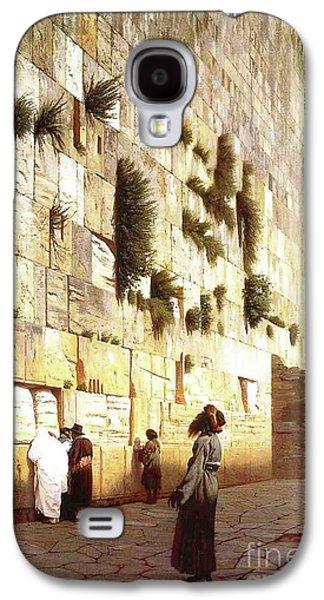 The Wailing Wall, Jerusalem, 1869 Galaxy S4 Case