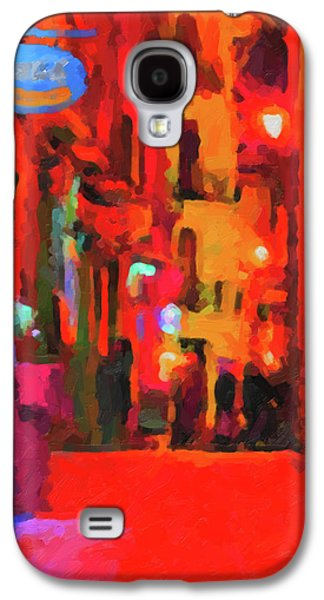 The Walkabouts - Spanish Red Moon Stroll Galaxy S4 Case