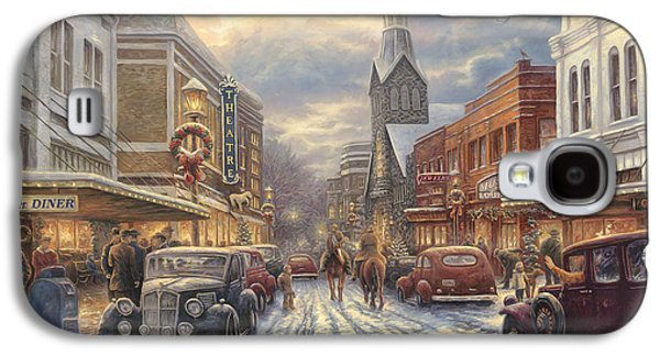 The Warmth Of Small Town Living Galaxy S4 Case by Chuck Pinson