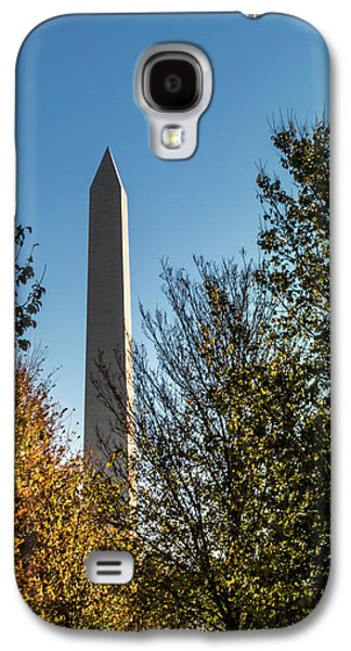 The Washington Monument In Fall Galaxy S4 Case