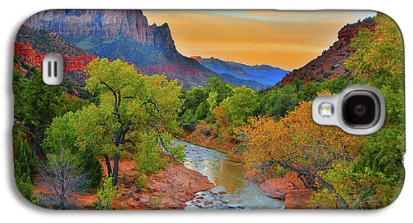 The Watchman And The Virgin River Galaxy S4 Case