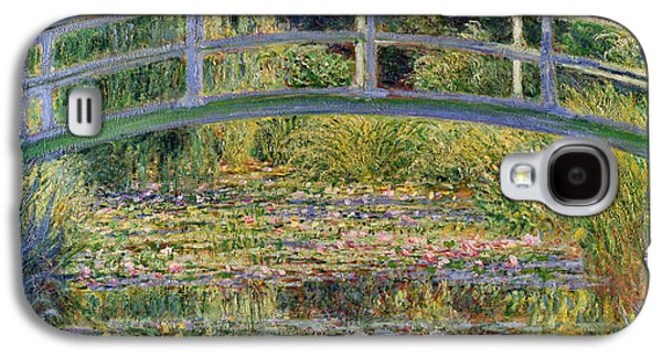 Lily Galaxy S4 Case - The Waterlily Pond With The Japanese Bridge by Claude Monet