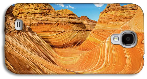 The Wave Galaxy S4 Case by Edgars Erglis