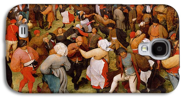 The Wedding Dance Galaxy S4 Case by Pieter the Elder Bruegel