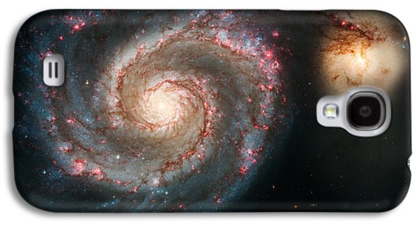 The Whirlpool Galaxy Galaxy S4 Case