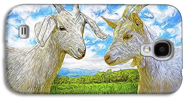 The Whispers Of Goats Galaxy S4 Case by Joel Bruce Wallach