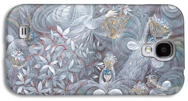 The White Hibiscus Galaxy S4 Case by Annael Anelia Pavlova