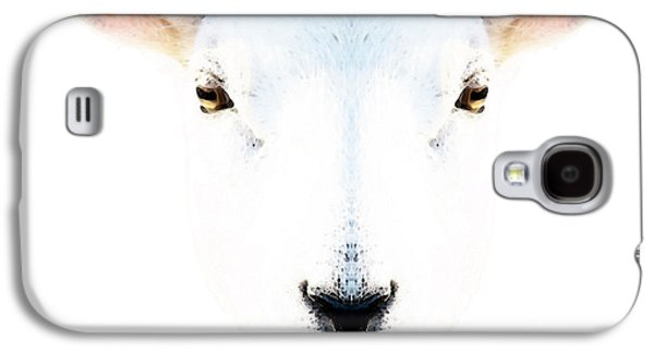 The White Sheep By Sharon Cummings Galaxy S4 Case by Sharon Cummings