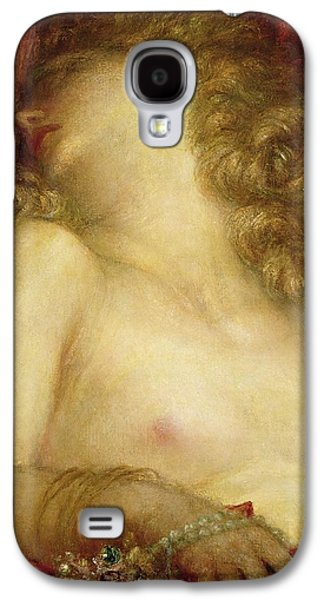 Jewellery Galaxy S4 Cases - The Wife of Plutus Galaxy S4 Case by George Frederic Watts
