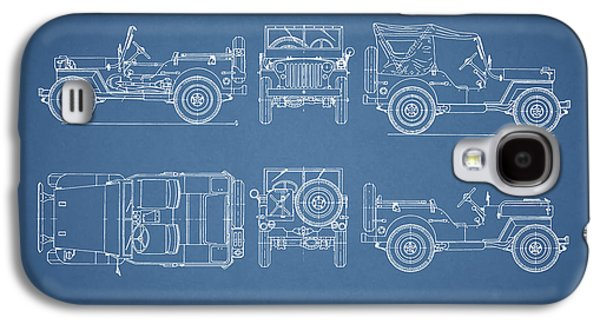 The Willys Jeep Galaxy S4 Case
