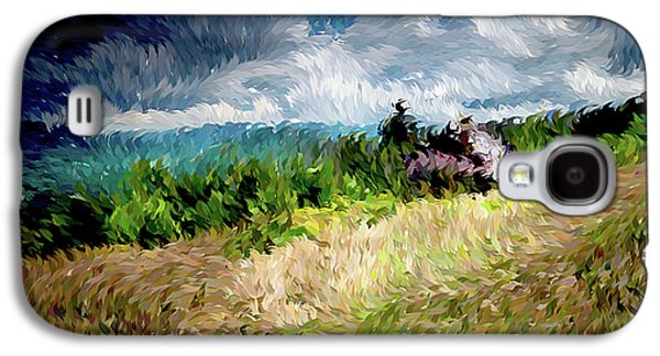 The Winds Come As Night Falls Impressionism Galaxy S4 Case