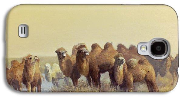 The Winter Of Desert Galaxy S4 Case by Chen Baoyi