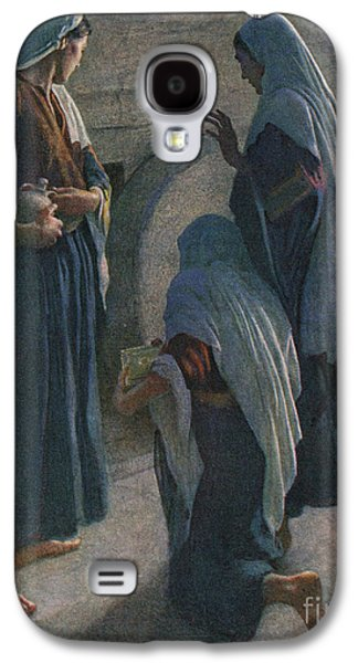 The Women At The Sepulchre Galaxy S4 Case by Harold Copping