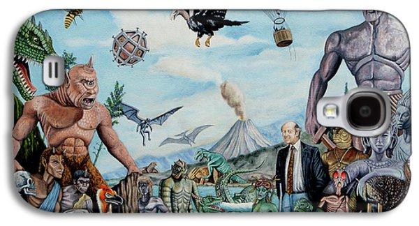 The World Of Ray Harryhausen Galaxy S4 Case by Tony Banos