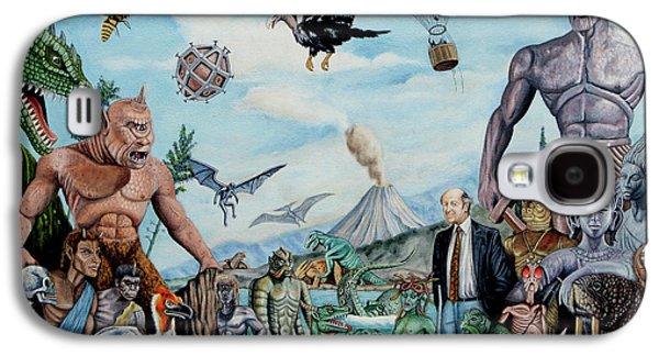 Cyclops Galaxy S4 Case - The World Of Ray Harryhausen by Tony Banos