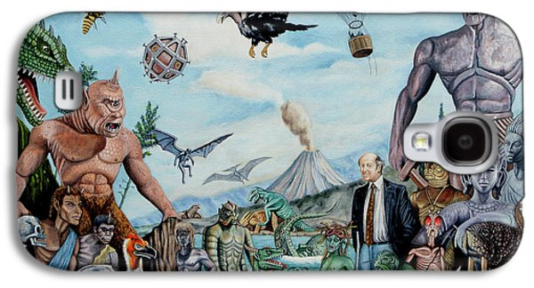The World Of Ray Harryhausen Galaxy S4 Case by Tony Banos