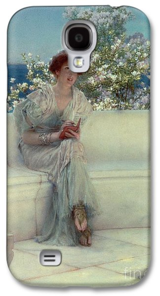 The Year's At The Spring -  All's Right With The World Galaxy S4 Case by Sir Lawrence Alma-Tadema