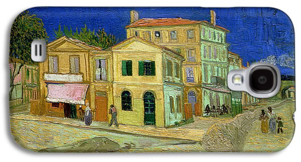 The Yellow House Galaxy S4 Case by Vincent Van Gogh