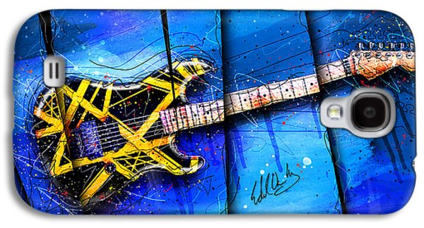 Van Halen Galaxy S4 Case - The Yellow Jacket by Gary Bodnar
