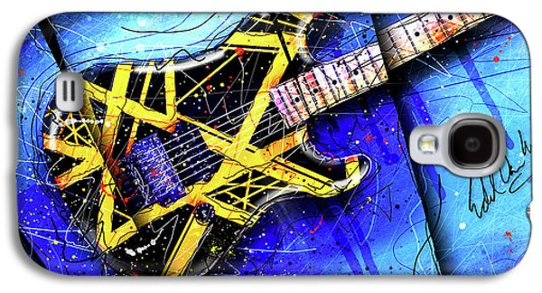 Van Halen Galaxy S4 Case - The Yellow Jacket_cropped by Gary Bodnar