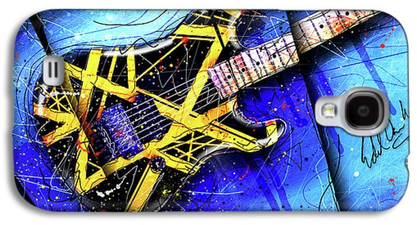 The Yellow Jacket_cropped Galaxy S4 Case by Gary Bodnar