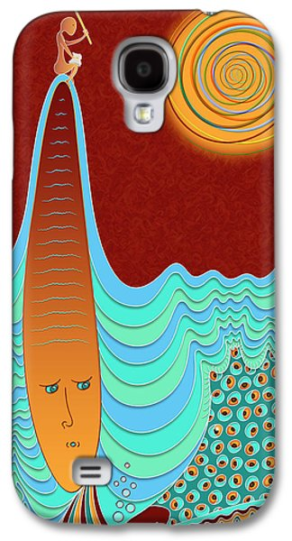 The Young Man And The Sea Galaxy S4 Case