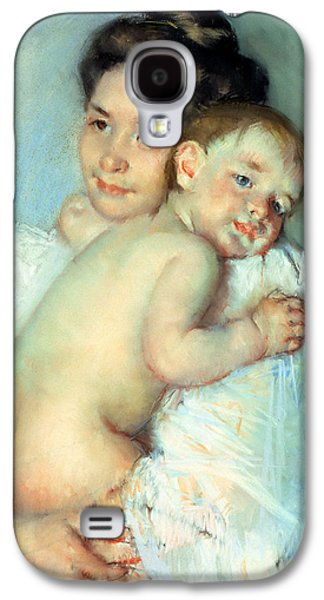 The Young Mother Galaxy S4 Case by Mary Stevenson Cassatt