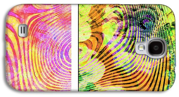The Zebra Galaxy S4 Case by Contemporary Art