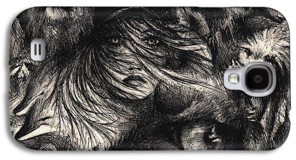 The Zoo Girl Galaxy S4 Case by Rachel Christine Nowicki