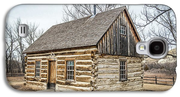 Theodore Roosevelt Cabin End Galaxy S4 Case by Paul Freidlund