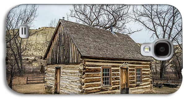 Theodore Roosevelt Cabin Side Galaxy S4 Case by Paul Freidlund