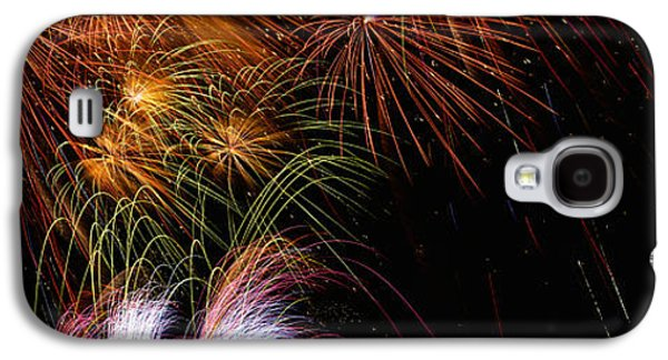 These Are Fireworks From Navy Pier. It Galaxy S4 Case by Panoramic Images