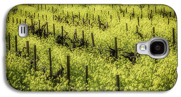 Thick With Mustard Grass Galaxy S4 Case by Garry Gay