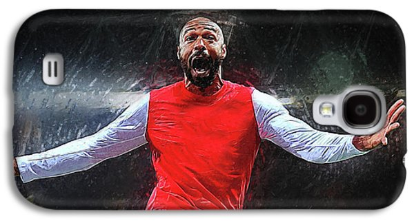 Thierry Henry Galaxy S4 Case by Semih Yurdabak