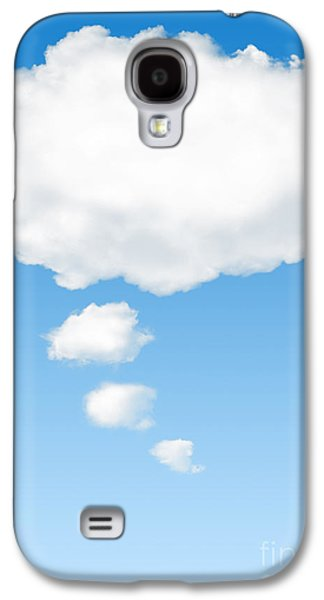 Thought Galaxy S4 Cases - Thinking Cloud Galaxy S4 Case by Carlos Caetano