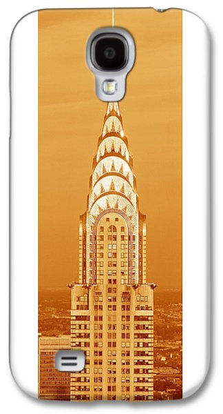 Chrysler Building At Sunset Galaxy S4 Case by Panoramic Images